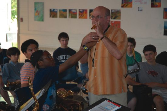 David Liebman at Litchfield Jazz Camp image 0