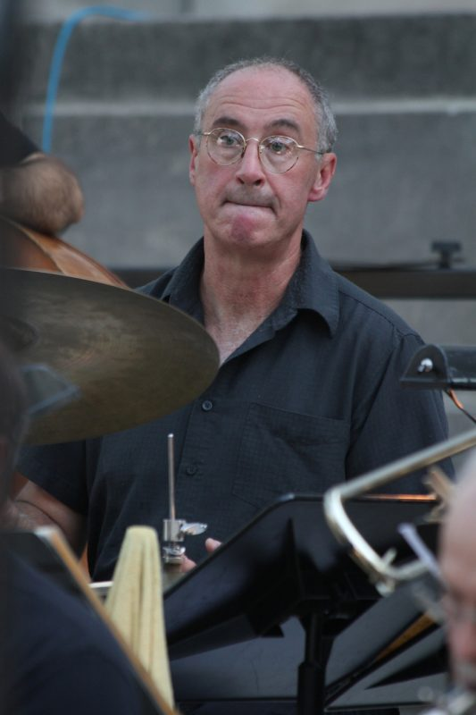 Rand Moore, founder of the Madison Mellophonium Jazz Orchestra