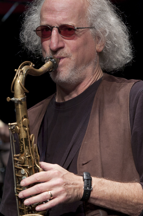 Larry Ochs in performance at the 2012 Guelph Jazz Festival
