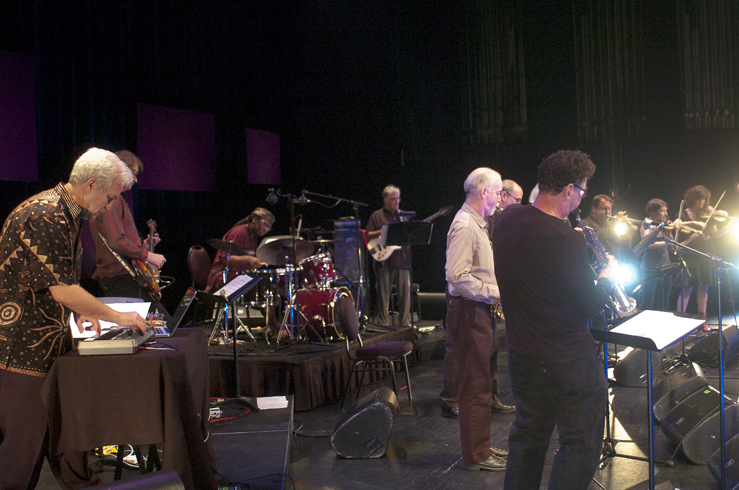 "Performance of Channeling Coltrane ""Electric Ascension"" at the 2012 Guelph Jazz Festival"