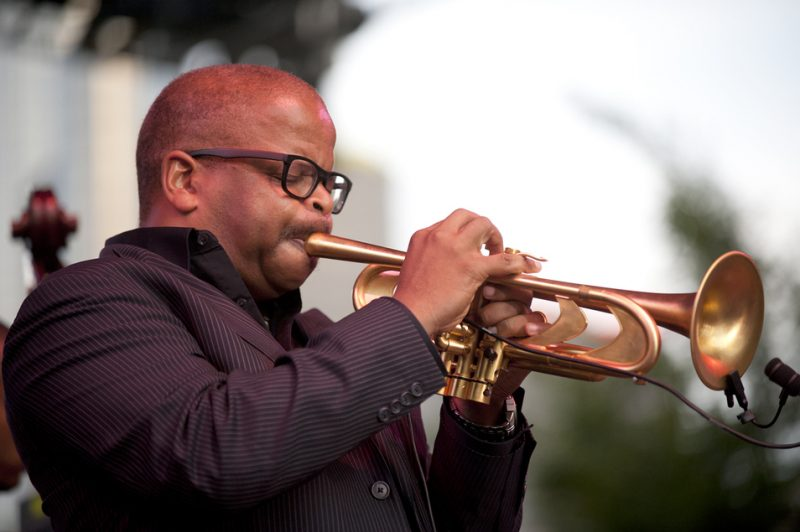 Terence Blanchard performing at the 2012 Detroit Jazz Festival