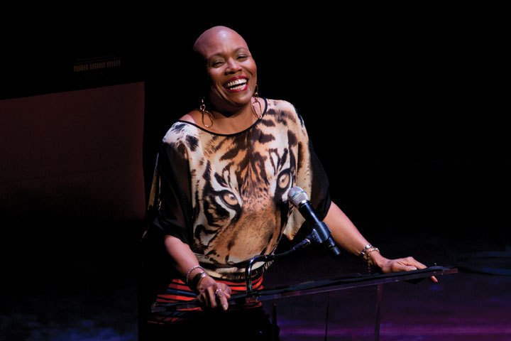 Dee Dee Bridgewater at the 2010 Mary Lou Williams Women in Jazz Festival