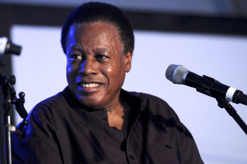 Wayne Shorter in interview session at Talk Tent at 2012 Detroit Jazz Festival