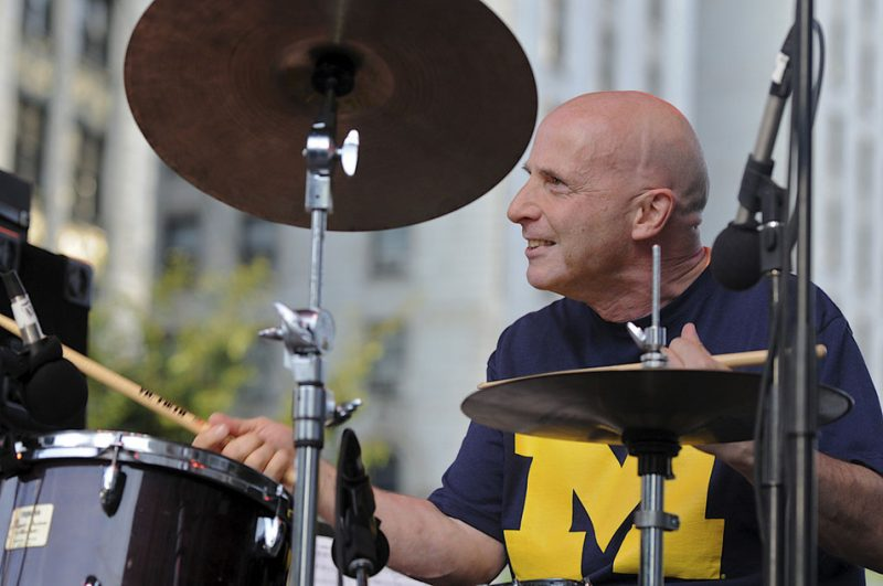 Joey Baron in performance with Soundprints at 2012 Detroit Jazz Festival