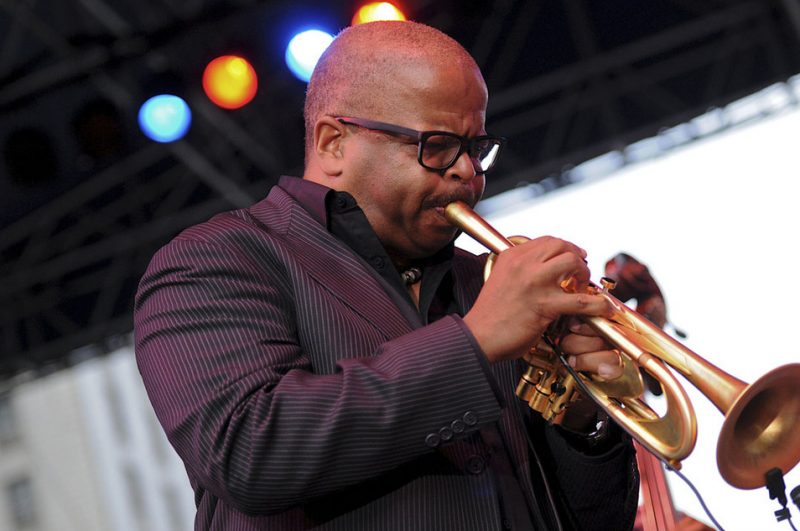 Terence Blanchard in performance at the 2012 Detroit Jazz Festival