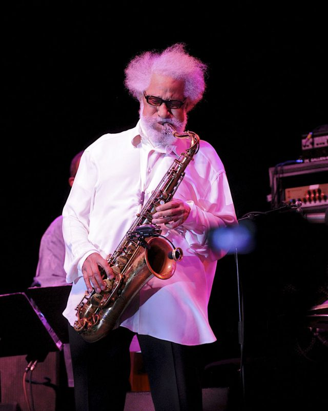 Sonny Rollins in performance at the 2012 Detroit Jazz Festival
