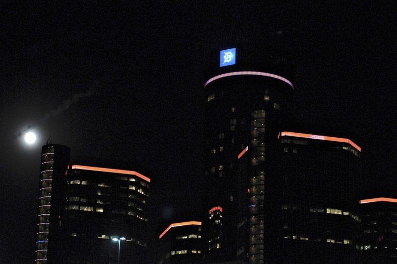 Skyline on the scene at the 2012 Detroit Jazz Festival