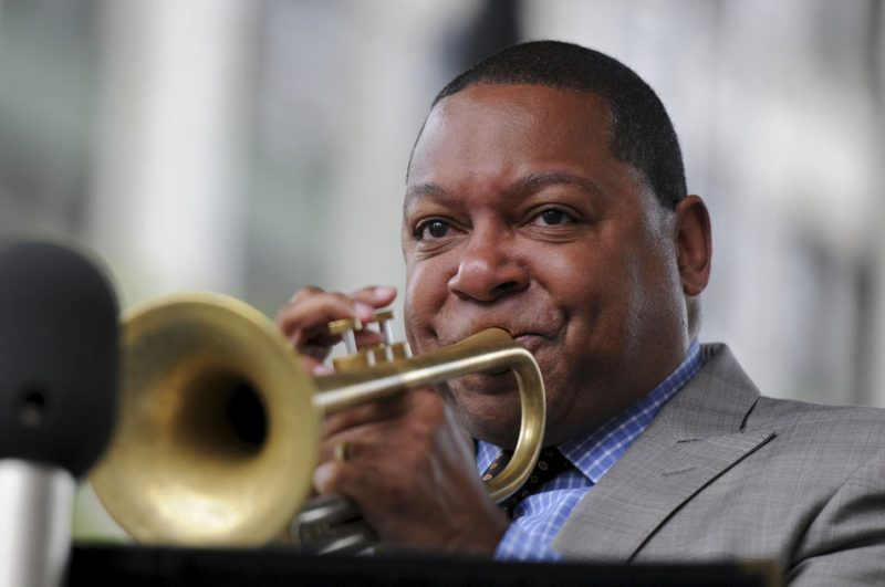 Wynton Marsalis performing with his quintet at the 2012 Detroit Jazz Festival