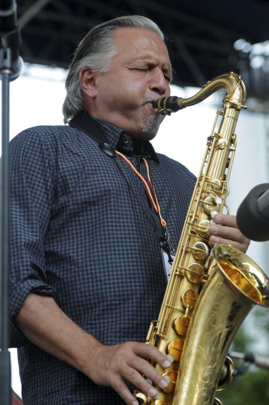 Jerry Bergonzi in performance at the 2012 Detroit Jazz Festival