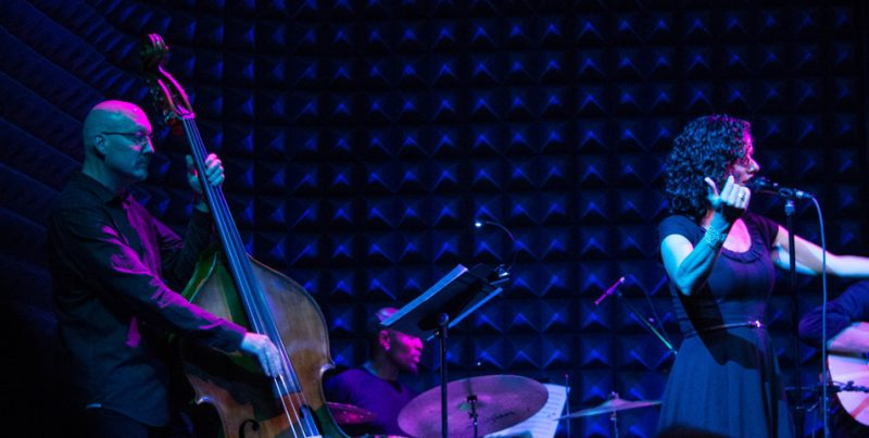 Scott Colley, Clarence Penn, Luciana Souza, Joe's Pub, NYC, 9-12