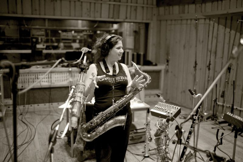 Anat Cohen at Avatar Studios, NYC, 12/11
