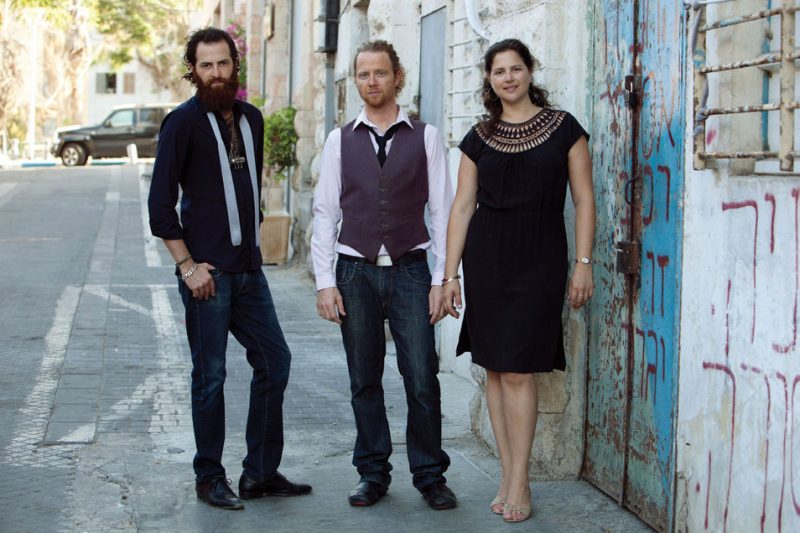The 3 Cohens: Avishai, Yuval and Anat, Tel Aviv, 2011