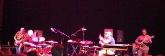 Tortoise performs in Baltimore to celebrate Thrill Jockey's 20th anniversary; September 2012. (L-R: Doug McCombs, John McEntire, Dan Bitney, Jeff Parker. Not pictured: John Herndon.)  image 0