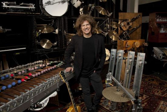 "Pat Metheny with ""Orchestrion"" machinery image 0"