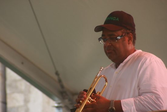 Jon Faddis at CareFusion Newport Jazz Festival 2010 image 0