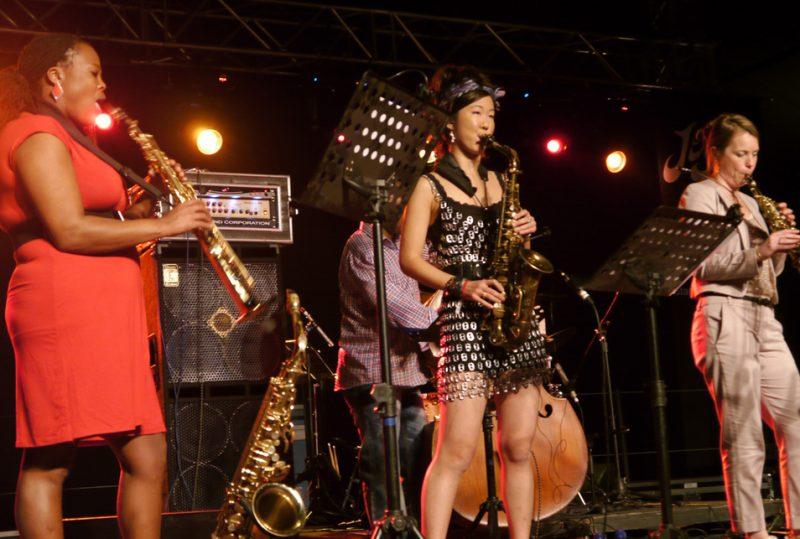 Sax Summit, Standard Bank Joy of Jazz Festival, Johannesburg 2012