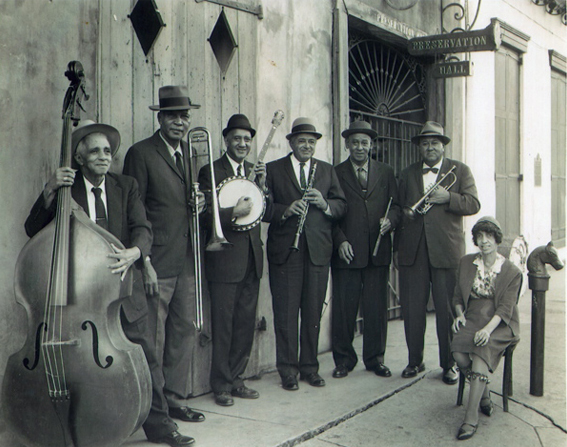 Preservation Hall Jazz Band: Sweet Emma Barrett was one of New Orleans' most famous pianists and vocalists and performed regularly at the Hall and on tour.