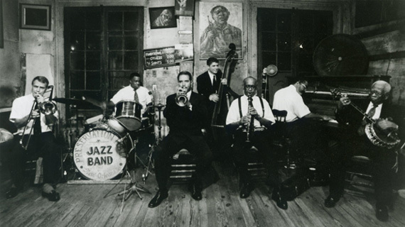 Preservation Hall Jazz Band: As years went on, many of the original Preservation Hall musicians passed.  Replacing them on the bandstand were musicians that had grown up learning and playing with them.