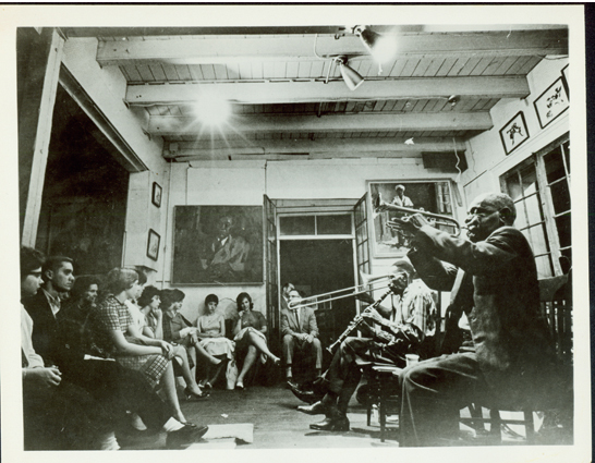Preservation Hall Jazz Band: One of the first organized bands to perform regularly inside Preservation Hall was the George Lewis Band (George Lewis on Clarinet).