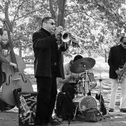 Unknown jazz band in Central Park, New York image 0