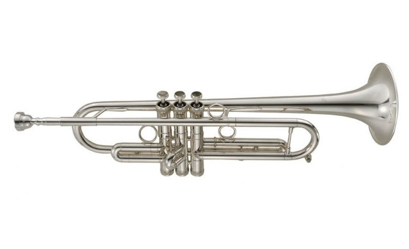 P. Mauriat's silver-plated PMT-655 trumpet