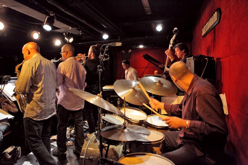 The SFJAZZ Collective performs at Jazz Standard in New York City, October 2012