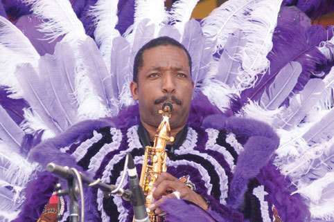 Donald Harrison, New Orleans Jazz Fest 2010