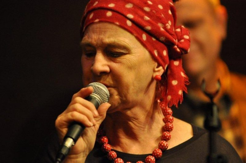 Carol Grimes (vocals) performing at the Studio - St. James Theatre in London on October 12, 2012