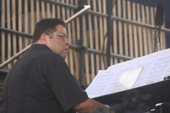 Arturo O'Farrill with his Latin Jazz Orchestra at CareFusion Newport Jazz Festival 2010 image 0