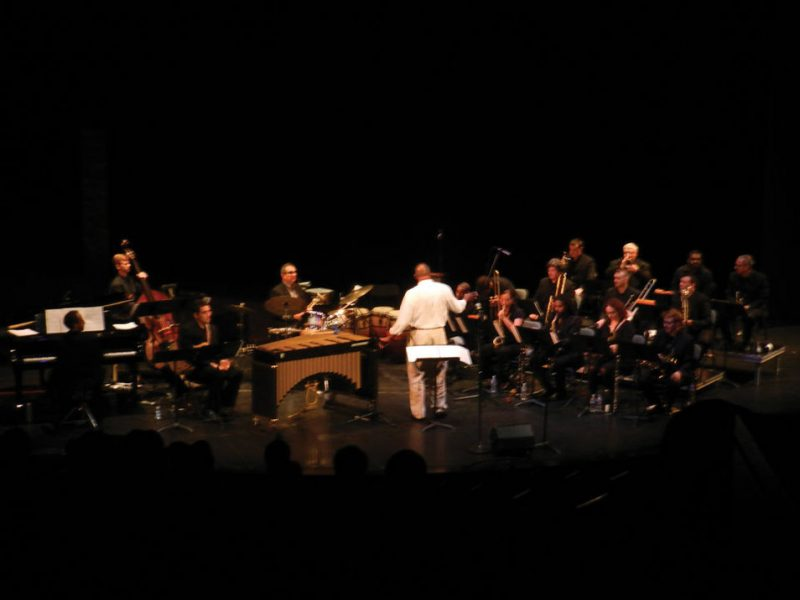 Joe Chambers directs Washington, D.C.-area musicians at the Atlas in 2012. Photo courtesy of the Atlas Center for the Performing Arts