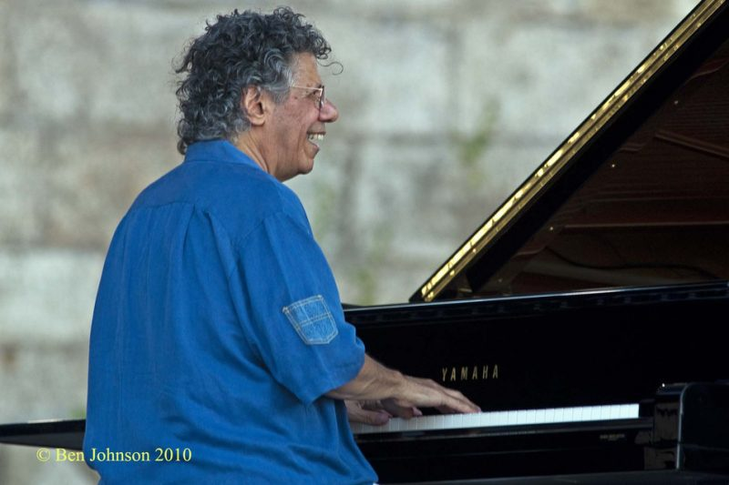 Chick Corea at CareFusion Newport Jazz Festival