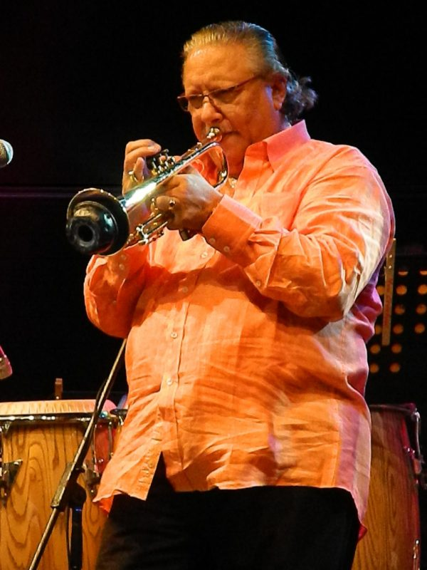 Arturo Sandoval in performance from the 2012 Carolina International Jazz Festival in Puerto Rico
