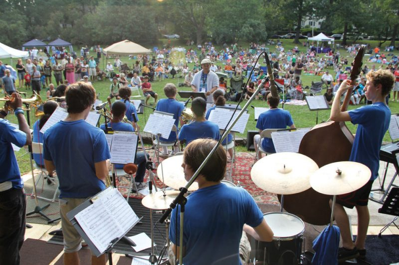 Students perform at the 2011 Montclair Jazz Festival