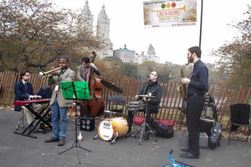 Jazz at Lincoln Center All-Stars, Jazz & Colors, Central Park, NYC, 11-10-12