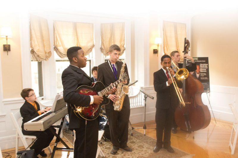 Jazz House Kids musicians, Newark, N.J., April 2012