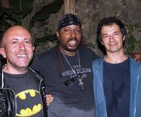 G. Calvin Weston, Roberto Cervi and Mario Mazzenga. Photo courtesy of G. Calvin Weston