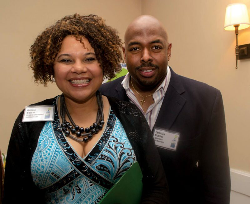 Jazz House Kids founder and Executive Director Melissa Walker and her husband, JHK Artistic Director Christian McBride. Photo courtesy of the Flynn Center for the Performing Arts