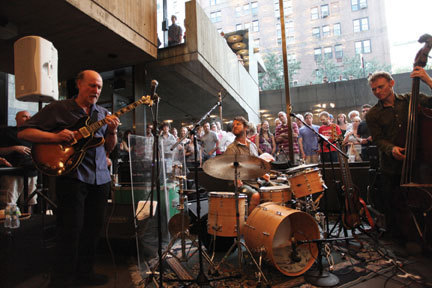 John Scofield, Billy Martin, Chris Wood, NYC, 8-11