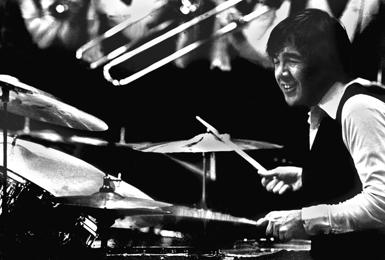 Peter Erskine with the Stan Kenton Orchestra, East Islip High School, Long Island, NY 1970s