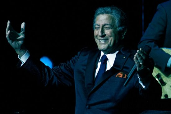 Tony Bennett in performance on November 4, 2011 at Academy of Music in Philadelphia image 0
