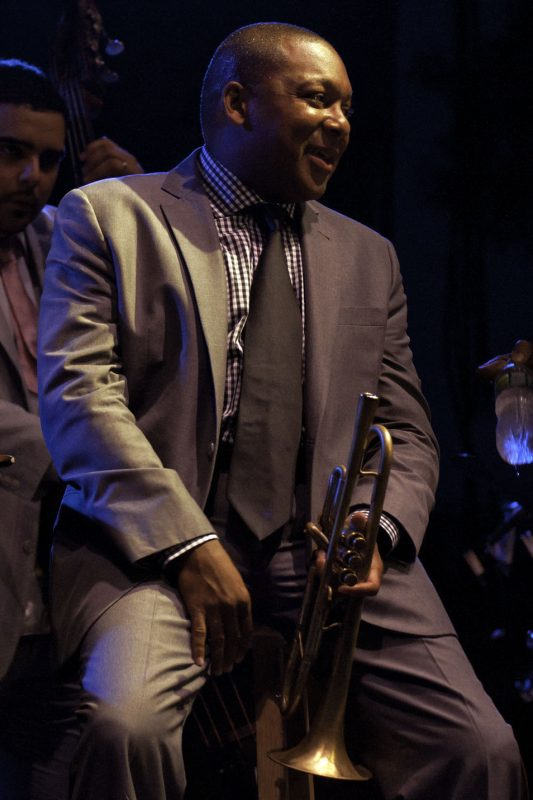 Wynton Marsalis performing at the 2011 Newport Jazz Festival