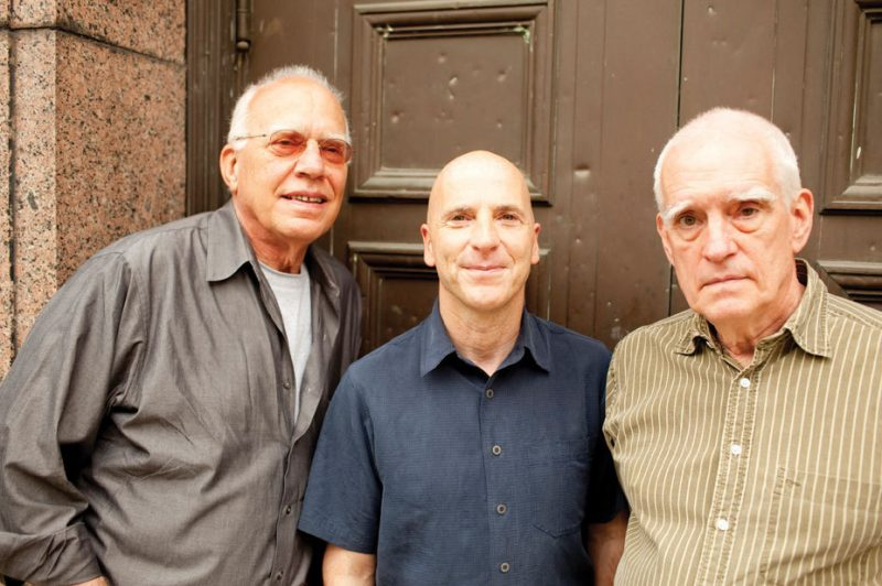Steve Kuhn, Joey Baron and Steve Swallow (l. to r.), 2011