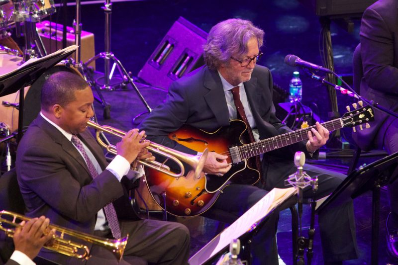 "Wynton Marsalis & Eric Clapton ""Play the Blues"" at Jazz at Lincoln Center"