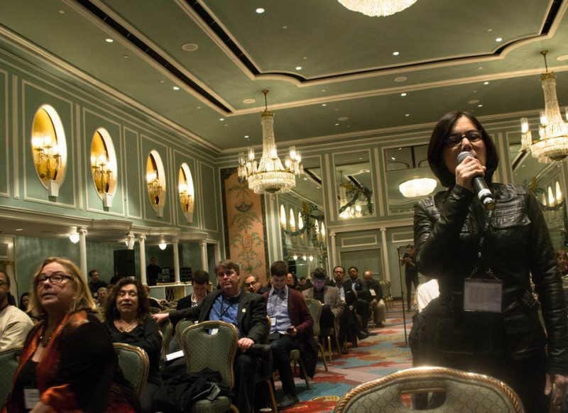 More than 1,000 people registered for the Jazz Connect Conference at the Hilton New York in Jan. 2013