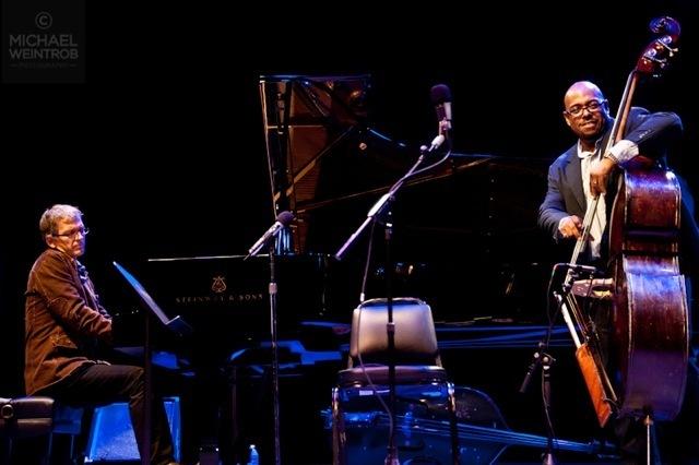 Brad Mehldau and Christian McBride, Jazz for Obama concert, NYC, 10-12