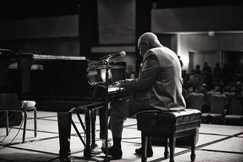 Freddy Cole at the 2013 Jazz Education Network Conference in Atlanta