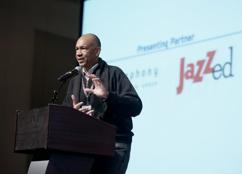John Clayton at the 2013 Jazz Education Network Conference in Atlanta