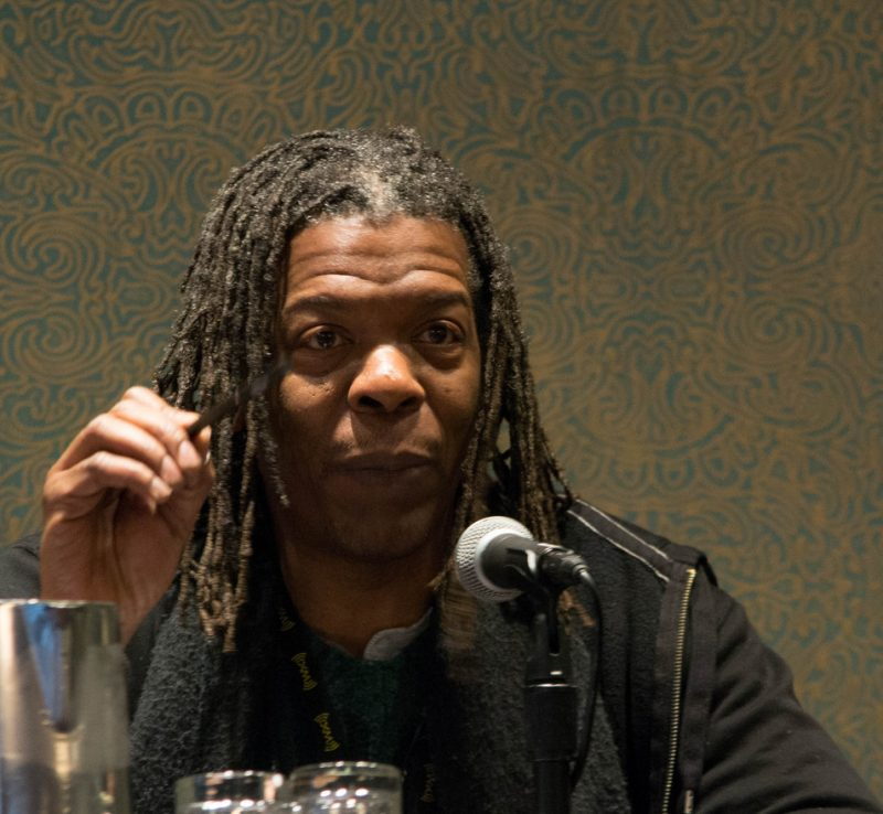 Mark Ruffin of Sirius/XM Radio took part in the Jukebox Jury at the 2013 Jazz Connect Conference in New York