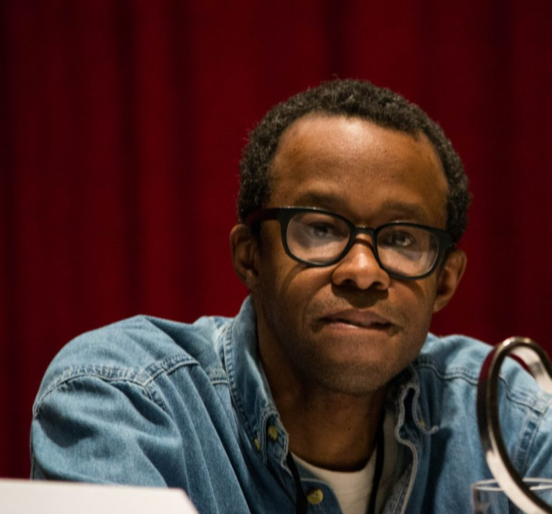 "Pianist/composer Matthew Shipp sat on the ""Race in Jazz"" panel at the Jazz Connect Conference held at the Hilton New York in January 2013"
