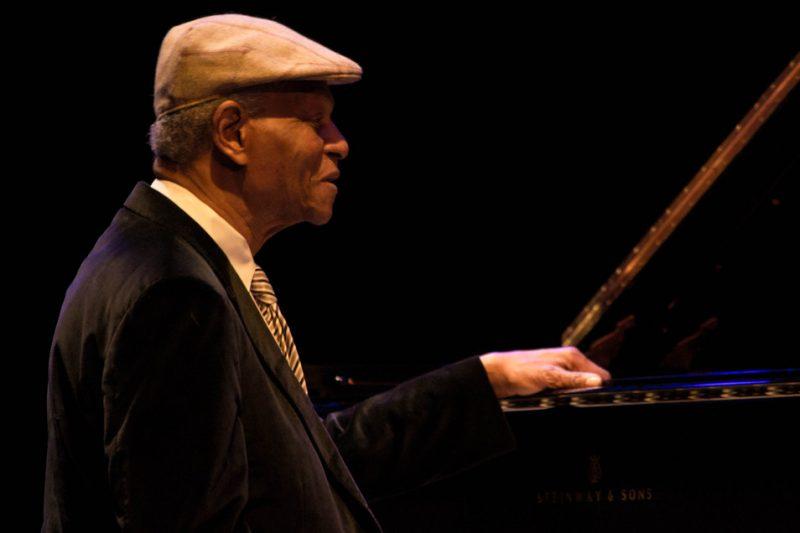 McCoy Tyner, Jazz for Obama concert, NYC, 10-12